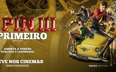 Sato Company lança o primeiro trailer dublado de Lupin III