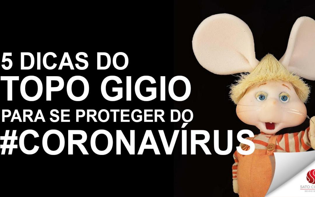 Topo Gigio faz vídeo com orientações de como se proteger do coronavírus